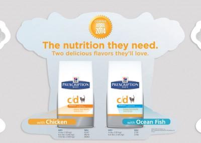 Hill's c/d Multicare New Flavor CSR