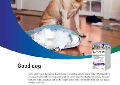 Elanco Reconcile page ad