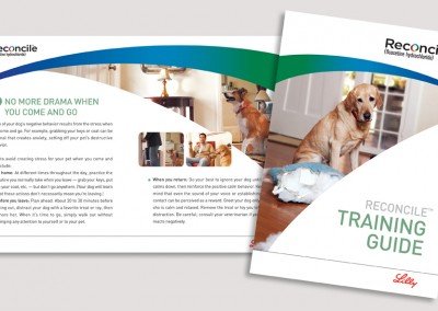 Elanco Reconcile Training Guide cover + spread