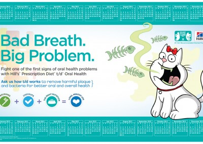 Hill's PDHA (Pet Dental Health Awareness) '14 Counter Mat