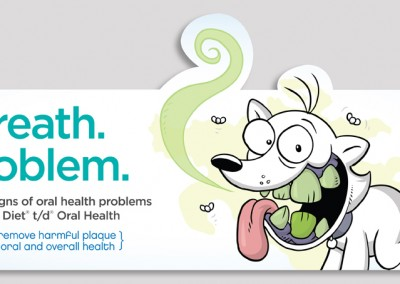 Hill's PDHA (Pet Dental Health Awareness) '14 Shelf Talker