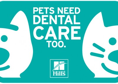 Hill's Pets Need Dental Care Too logo