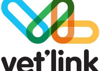 vet'link logo concept for European veterinarian group